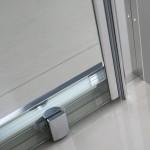 Accès d'angle avec portes coulissantes BELLAGIO