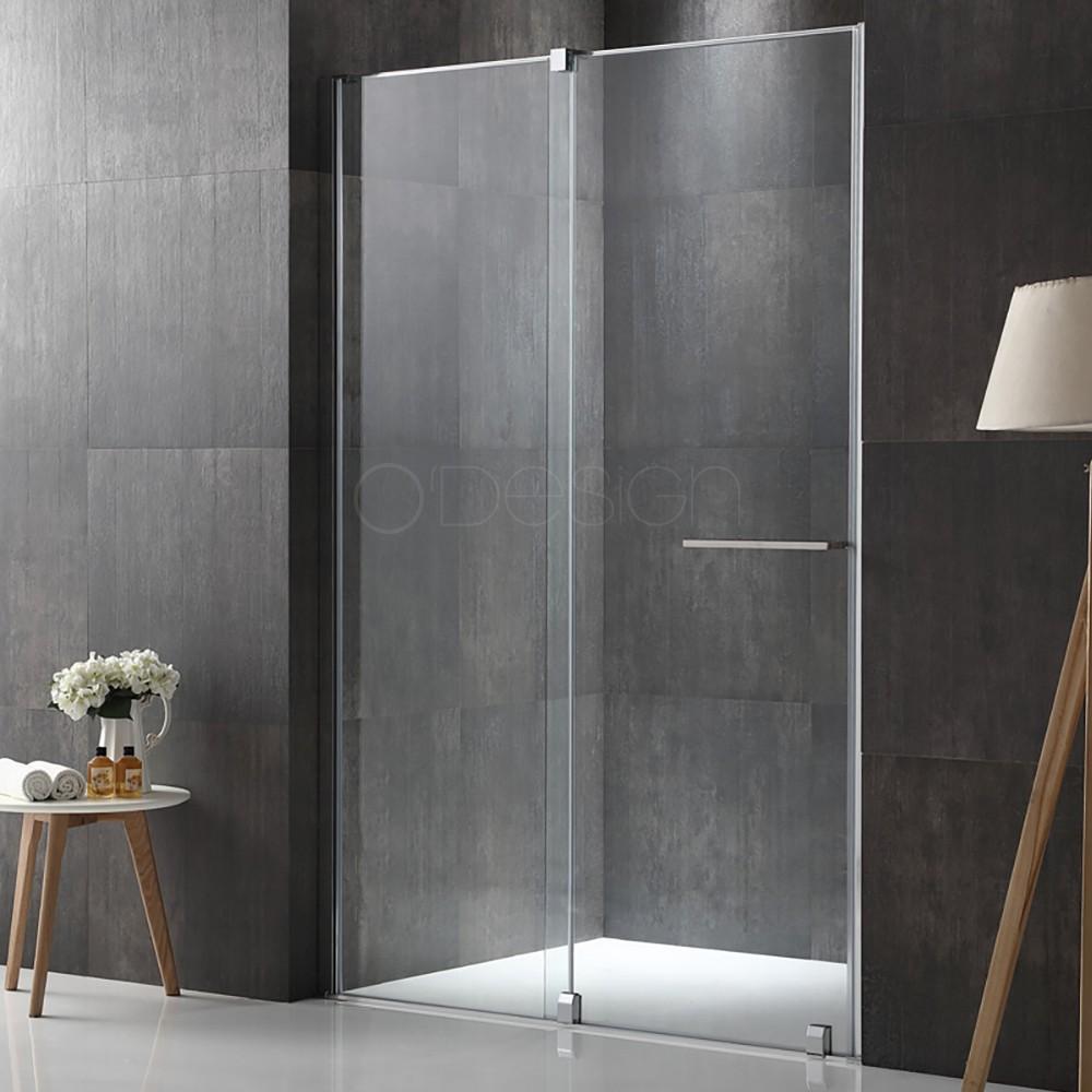 paroi fixe avec porte coulissante aribo. Black Bedroom Furniture Sets. Home Design Ideas