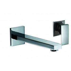 Mitigeur lavabo encastré 2 trous Daly D101 Chromée