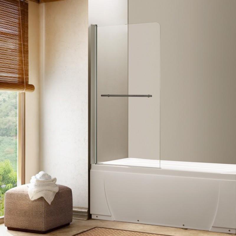 Pare baignoire 1 volet prb4 - Pare baignoire miroir ...