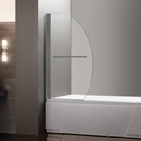 Pare baignoire 1 volet prb5 - Pare baignoire miroir ...